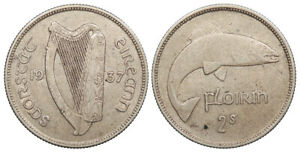 IRELAND 1937 Florin Good VF