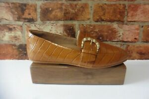 FITFLOP DYNAMICUSH TECHNOLOGY TAN LEATHER LOAFERS SIZE 6.5 LEATHER LINED NEW