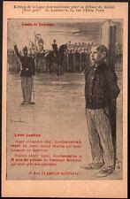 Steinlen. A bas la justice militaire. Leur Justice. 1904