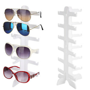6 Layers Glasses Eyeglasses Sunglasses Show Stand Holder Frame Display Rack New