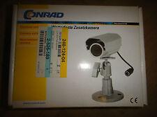 4 Stück Conrad 2,4 GHz Farb-Kamera Überwachung Funk Empfänger Software
