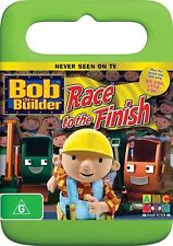 Bob the Builder: Race to the Finish DVD Region 4 (New & Sealed)