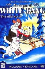 Legend of White Fang - The Wild North (Slimline DVD, 2006) BRAND NEW SEALED