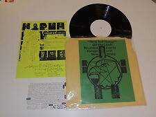 NEW BAD THINGS off the leash recorded live in europe & new jersey Lp RECORD RARE