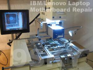 IBM LENOVO T61P THINKPAD LAPTOP MOTHERBOARD FLAT REPAIR