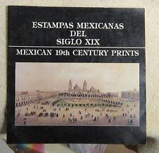 Estampas Mexicanas Del Siglo XIX 19th Century Prints Solana