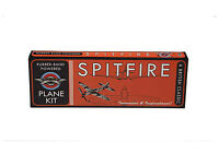 Spitfire Rubber Band Powered Model History Plane Kit Flying Classic Super Plane