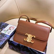 Celine vintage old pattern brown edge Arc de Triomphe bag