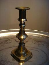 antiker Messingleuchter Kerzenständer 19. Jhd. sehr schön und dekorativ