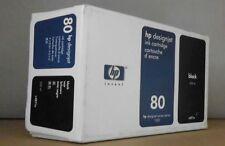 HP 80 Tintenpatrone C4871A black für DJ 1050 C  Plus 1055  CM  CM Plus 2013 OVP