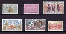 LOT DE TIMBRES N° 1676/1677/1678/1679/1680/1681 NEUF**