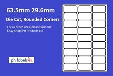 A4 White Multi-Purpose 27 to view 63.5x 29.6mm Self adhesive labels (500 Sheets)