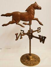 Vintage Copper Brass Horse Table Top Weathervane