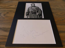 ANTHONY QUINN (+ 2001) signed Autogramm LAWRENCE VON ARABIEN 25x35 Passepartout