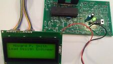 PIC 16F877A Circuit Board w/LCD Display, Connecting Cables