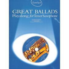 Great Ballads - Playalong for Tenor Saxophone - Tenorsaxophon Noten [Musiknoten]