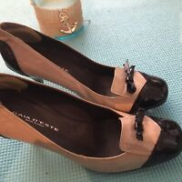 New without box Women designer Patten leather shoe size 7.5med