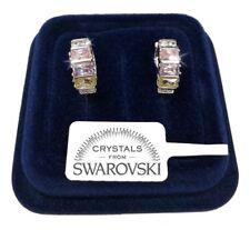 Cerchi 16mm Orecchini unisex pl. oro Colore 18K cristalli swarovski veri SW8/2
