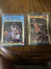 Michael Jordan 1988 Fleer All-star & Sticker