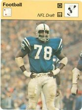 """BUBBA SMITH 1978 Sportscaster card  #46-01 BALTIMORE COLTS """"NFL Draft"""""""