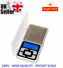 Mini Small Pocket Digital Gold Weighing Pans Scales 0.01g- 200g- UK STOCK