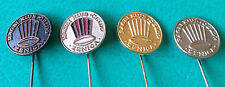RUGBY - Club CELIK from Zenica - Bosnia and Herzegovina -  Set of 4 pin badges