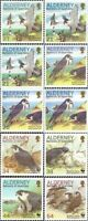 ALDERNEY 2000 PEREGRINE FALCON SET OF ALL 10 OF COMMEMORATIVE STAMPS MNH a