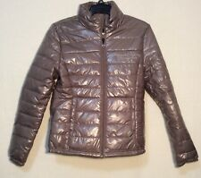 Tan UFC Ultimate Fighting Championship Cushy INSULATED JACKET Size Small ~ NWT
