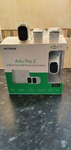 Arlo Pro2 Smart Home Security CCTV Wireless Twin Camera System