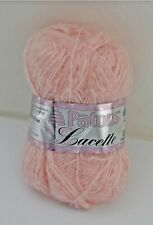 Patons Lacette Mohair/Acrylic/Nylon Yarn - 1 Skein Hint of Rose #30415