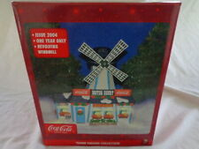 2004 One Year Issue Town Square Collection Coca Cola Windmill Motor Court