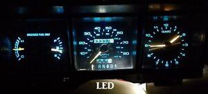 1988-1989 Lincoln Town Car Gauge Instrument Cluster - LED bulb upgrade! 88-89