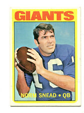 1972 Topps #118 Norm Snead New York Giants