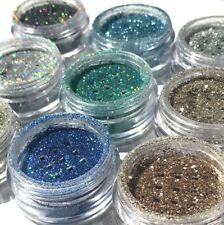 Fine Dust Glitter Pot Nail Art Face Body Eye Shadow Craft Iridescent Cosmetic UK