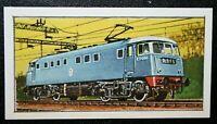 BRITISH RAILWAYS  Class 81   Electric Locomotive   Colour Card