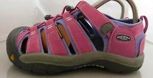 Girls Keen Newport H2 Dahlia Walking Sport Sandals Size: 5 Color: Pink