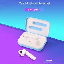 Bluetooth 5.0 Headset Mini TWS Twins Wireless Headphone Stereo Earphones Earbuds