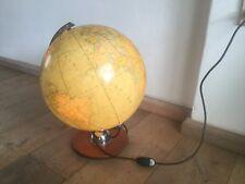 Globus Leuchte JRO Verlag München ∅33cm Glaskugel Lampe Vintage Globe 1961 dated