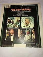 Vintage Video CED Disc The Sea Wolves Part 1