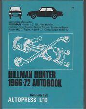 1966 – 1972 HILLMAN HUNTER SCEPTRE SINGER VOGUE ALPINE USED AUTOBOOK MANUAL