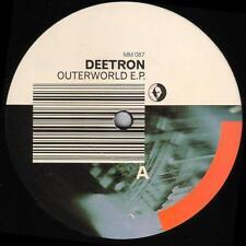 Deetron - Outerworld EP 2 EP VG+ MM 087 Belgium Techno 2001 Record