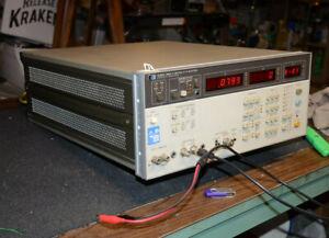 HP 4280A C-V G CONDUCTANCE CAPACITANCE METER C-V PLOTTER .001pf-1.9nf