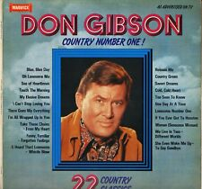 """DON GIBSON """"COUNTRY NUMBER ONE"""" 80'S LP WARWICK 5079"""
