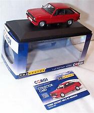 VANGUARDS Ford Escort MK2 RS Mexico Signal Red VA12615 ltd ed