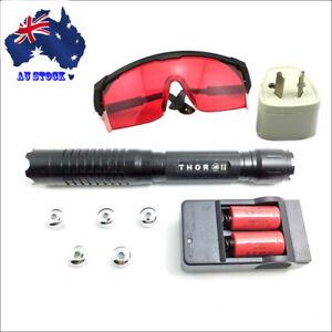 BQ6 THOR M II 1MW 450nm Blue Laser Pointer Visible Lazer Torch Beam Laser Pen AU