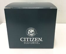 Authentic Citizen Eco-Drive Black Watch Box, OUTSIDE & INSIDE BOX ONLY