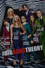 THE BIG BANG THEORIE - Autogrammkarte - Signed Autograph Autogramm Clippings