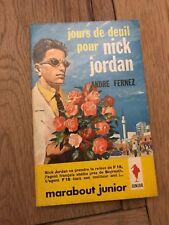 NICK JORDAN JOURS DE DEUIL POUR NICK JORDAN