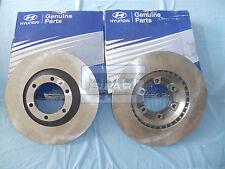 Paar Bremsscheiben vorne original abs Hyundai Galloper HQ232405 sivar