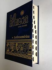 Biblia Latinoamericana- Edición Pastoral. Letra grande, Catolica. con indices